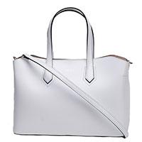 Женская сумка Tosca Blu из кожи белого цвета, фото