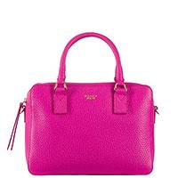 Розовая сумка Tosca Blu Ninfea на широком ремне, фото