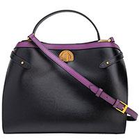 Черная сумка Tosca Blu Delizia из фактурной кожи, фото