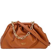 Коричневая сумка Tosca Blu на цепочке, фото