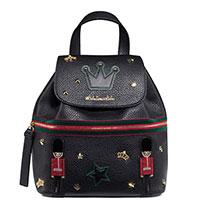 Черный рюкзак Tosca Blu с заклепками, фото