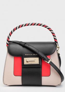 Сумка-портфель Tosca Blu Costa Smeralda с красными вставками, фото