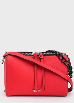 Красная сумка Tosca Blu Rimini с цепочкой, фото