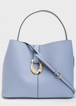 Голубая сумка Tosca Blu Caorle с дополнительным ремнем, фото