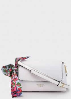 Белая сумка Tosca Blu Alghero с бантом, фото