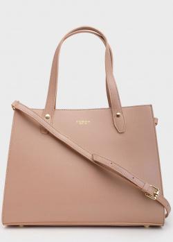 Пудровая сумка Tosca Blu Capri с логотипом, фото