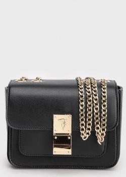 Маленькая сумка Trussardi Lyon черного цвета, фото