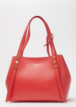 Красная сумка Tosca Blu со съемной косметичкой, фото