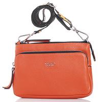 Маленькая сумка Tosca Blu Guttuso из кожи оранжевого цвета, фото