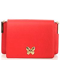 Красная сумка Twin-Set с застежкой-бабочкой, фото