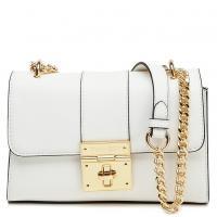 Женская сумка Twin-Set белая на цепочке, фото