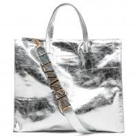 Серебристая сумка-шоппер Twin-Set, фото