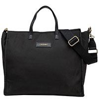 Черная сумка Twin-Set с металлическим логотипом, фото