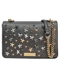 Серая сумка Twin-Set с декором в виде звезд, фото