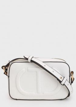 Белая сумка Twin-Set с тиснением, фото