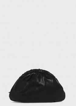 Черный клатч Furla Essential из кожи с обработкой, фото