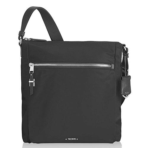 Черная сумка Tumi Voyageur со съемным брелоком, фото