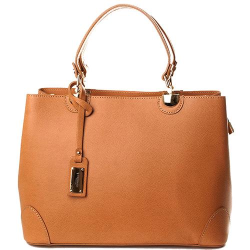 Коричневая деловая сумка Trussardi, фото