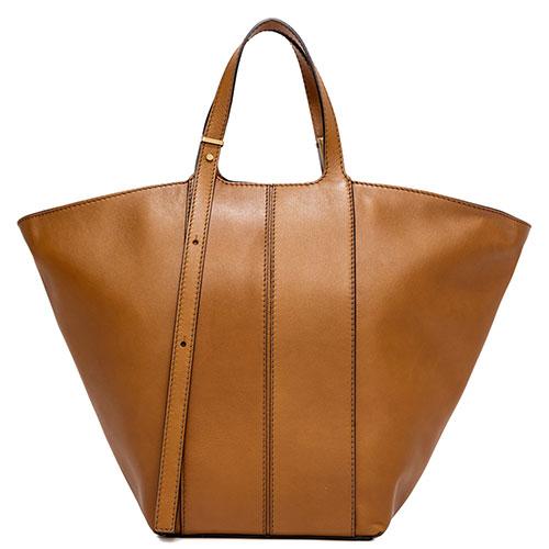 Женская сумка-тоут Gianni Chiarini Diletta в коричневом цвете, фото