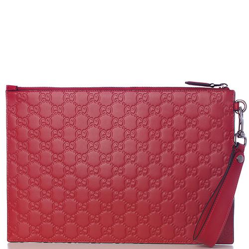 0fdfedb38855 ☆ Клатч-папка Gucci Gucci Signature красного цвета купить в Киеве ...