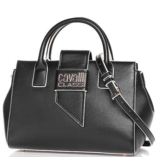 Деловая сумка Cavalli Class Lydia с брендовым лого, фото