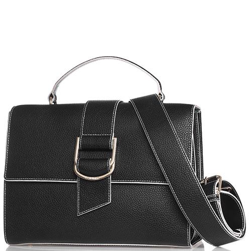 Деловая сумка Baldinini Megan черного цвета, фото