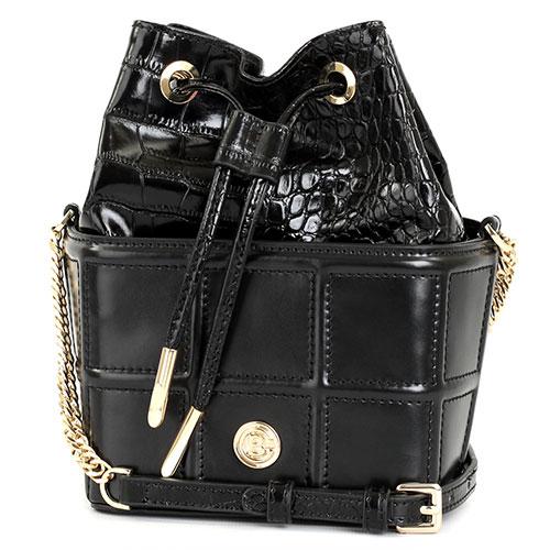 Маленькая сумка Baldinini Juliet с тиснением кроко, фото