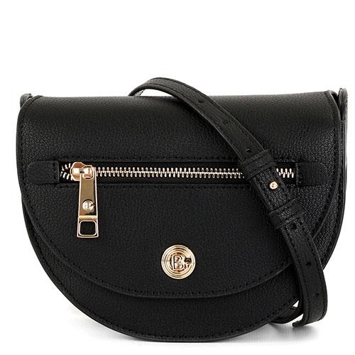 Черная сумка Baldinini Aida из мелкозернистой кожи, фото