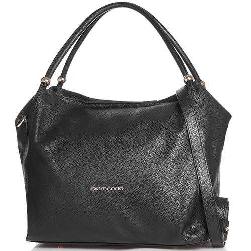 0cca9376b953 ☆ Черная сумка Di Gregorio с декоративными бусинами на ручках ...