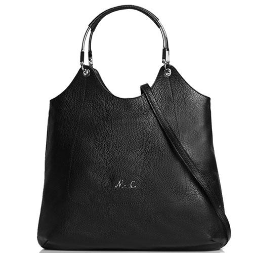 Женская сумка-тоут Marina Creazioni в черном цвете, фото