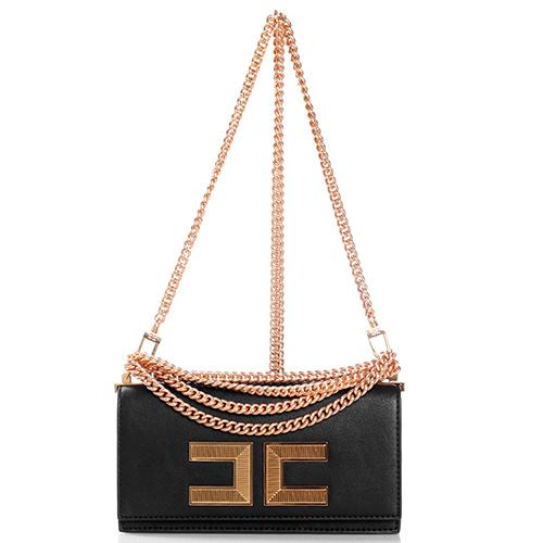 Маленькая сумка Elisabetta Franchi на цепочке, фото