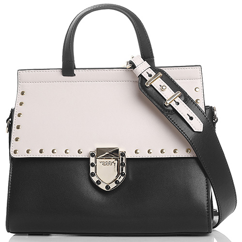 d3882fcaf2ff ☆ Деловая сумка Tosca Blu Pollock черно-бежевого цвета купить в ...