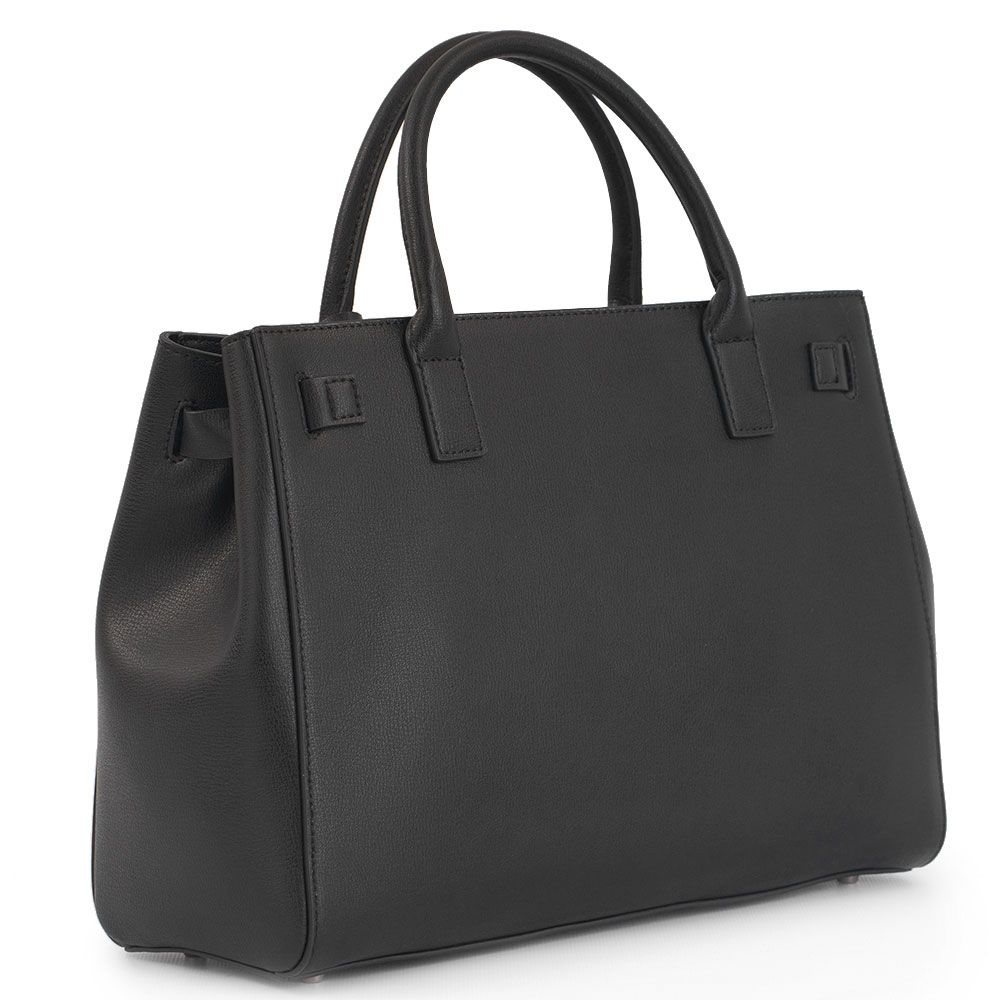 Черная сумка Cromia Sapphire со съемным ремнем