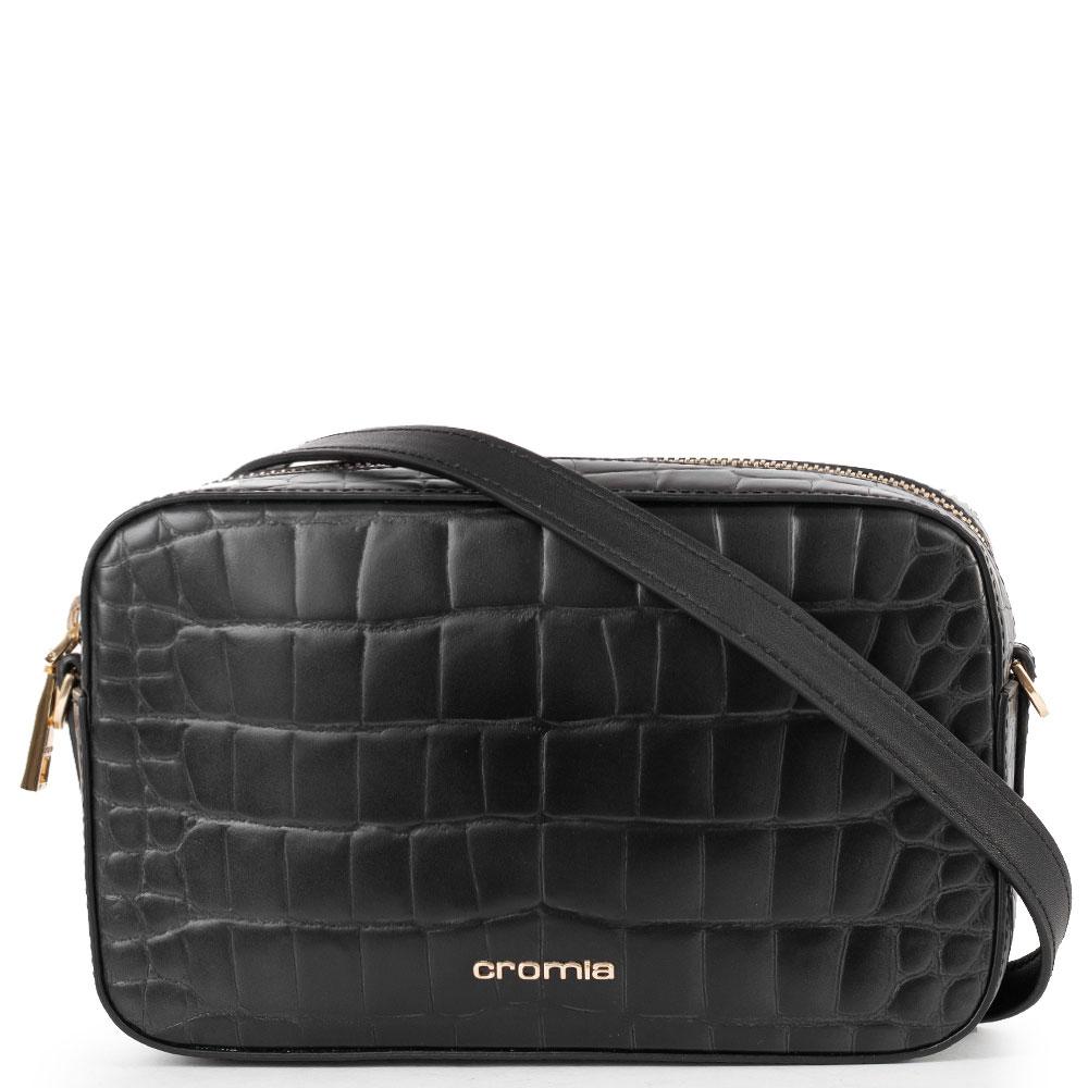 Прямоугольная сумка Cromia с тиснением кроко