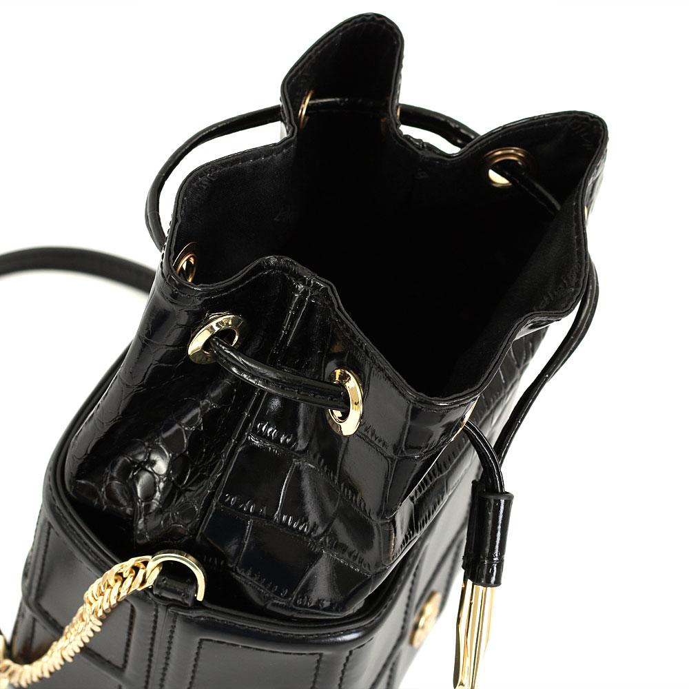 Маленькая сумка Baldinini Juliet с тиснением кроко