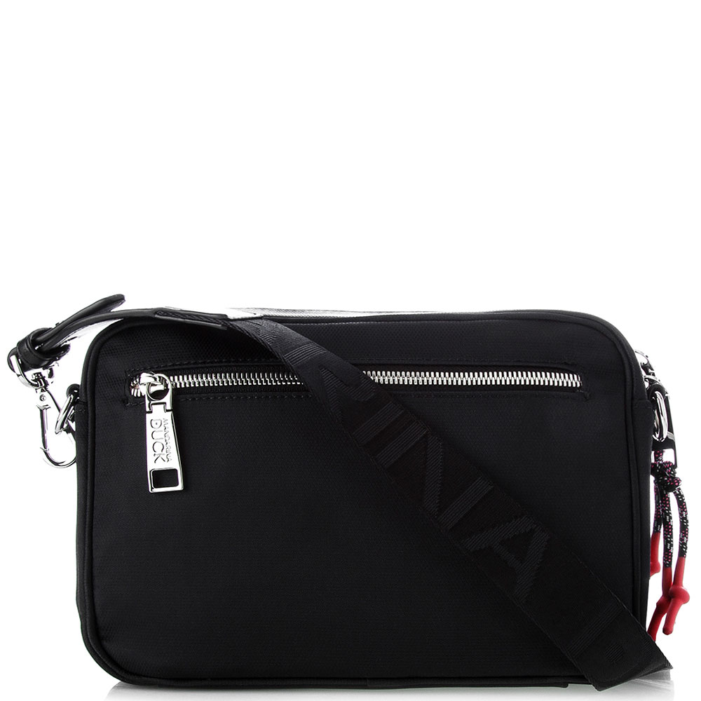 Черная сумка Mandarina Duck Style со съемным ремнем