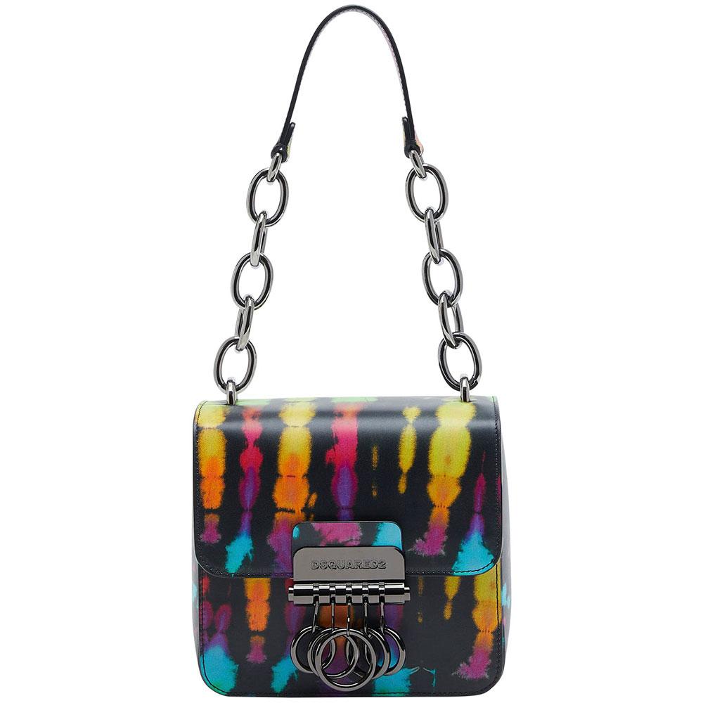 Маленькая сумка Dsquared2 Key с металлическим декором