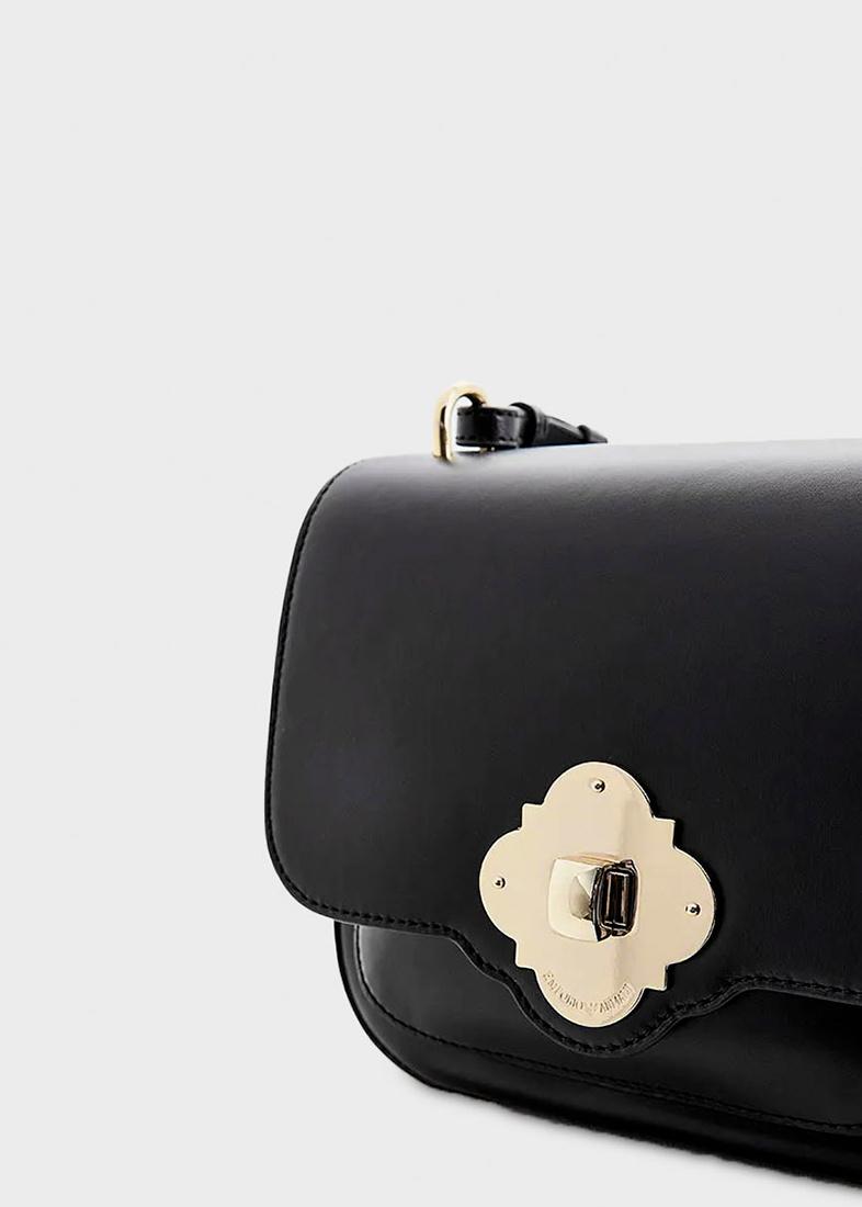 Маленькая сумка Emporio Armani черного цвета