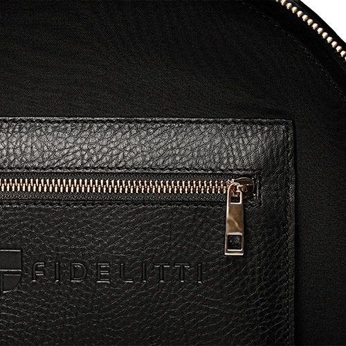 Черная сумка box-style Fidelitti Tondo из кожи, фото
