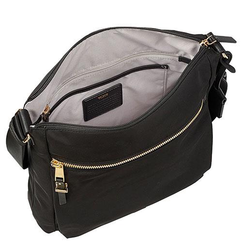 Черная сумка Tumi Voyageur из нейлона, фото