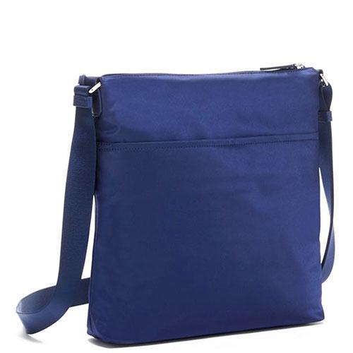 Синяя сумка Tumi Voyageur прямоугольной формы, фото