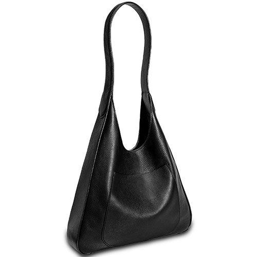 Сумка-хобо Fidelitti Etro из кожи черного цвета, фото