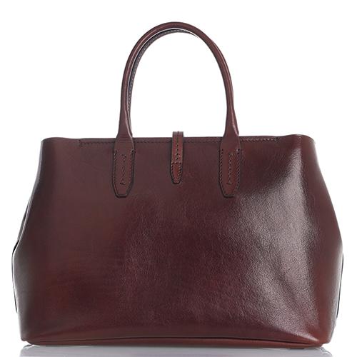 Женская сумка-шоппер The Bridge Dalston коричневого цвета, фото
