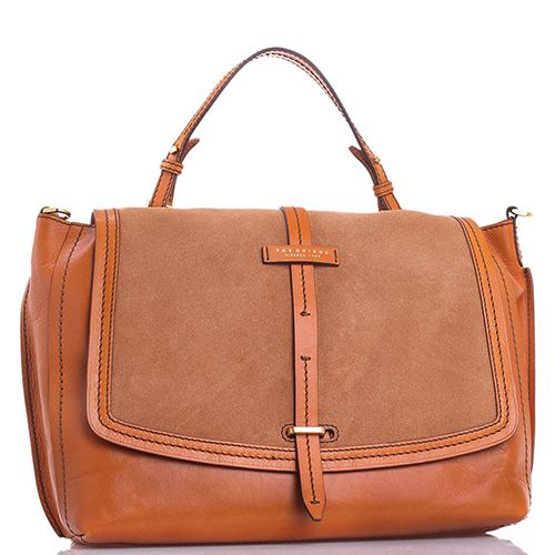 Женская сумка The Bridge Indie коричневого цвета, фото