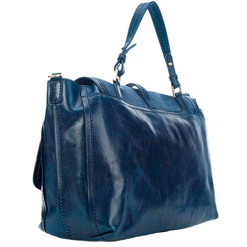 Женская сумка The Bridge Indie синего цвета, фото