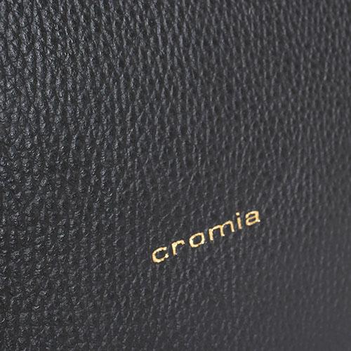 Сумка Cromia Corinna из крупнозернистой кожи черного цвета, фото