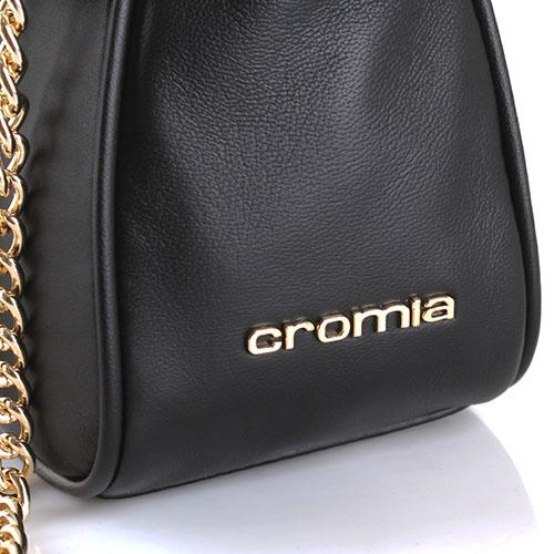 Сумка Cromia Gala из кожи черного цвета, фото