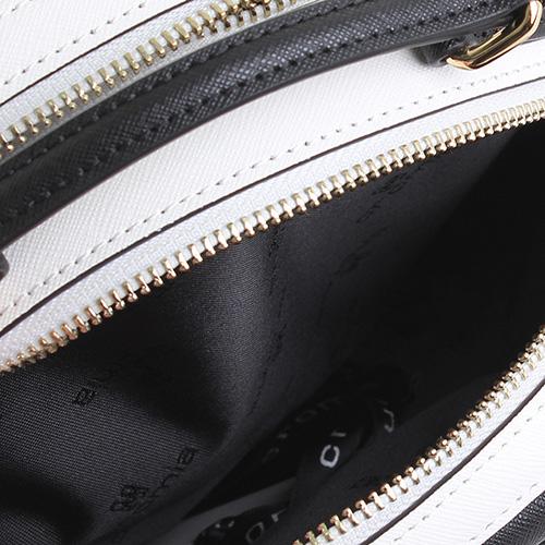 2bd2fa8b5178 ☆ Трехцветная сумка Cromia It Saffiano округлой формы купить в ...
