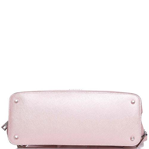 b9584a387641 ☆ Рюкзак Cromia Perla с тиснением сафьяно розового цвета купить в ...