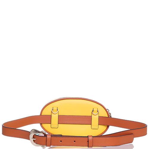 Оранжевая поясная сумка Cromia Jala с ремнем, фото